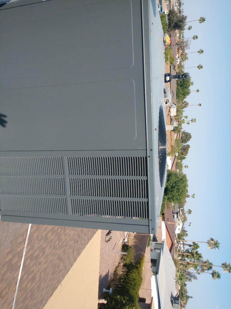 Ac repair. Performed air conditioning Repair on goodman heat pump