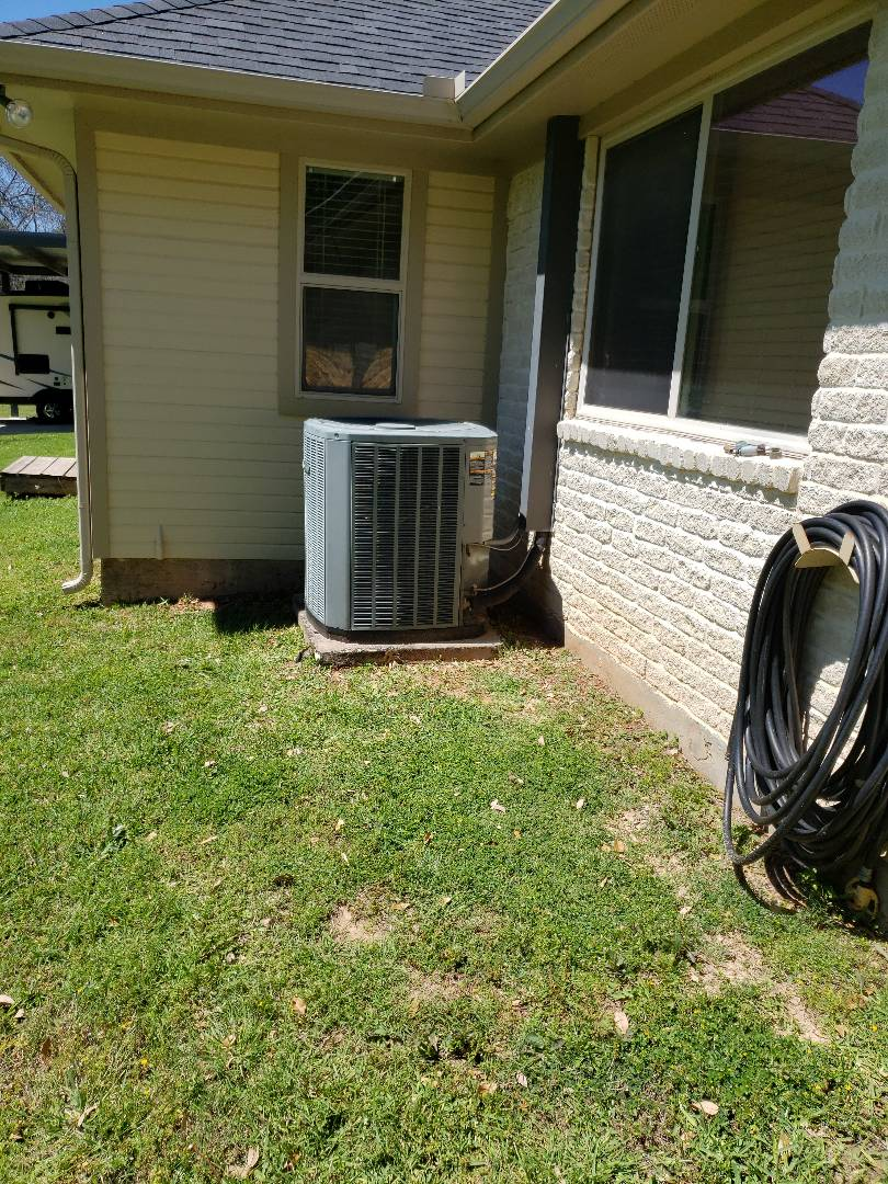 Trane air conditioning system running not. Ooling