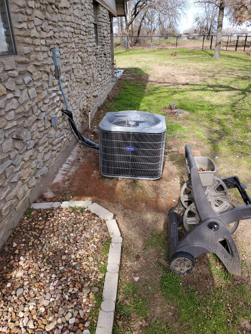 1295526 HEATING AND AIR CONDITIONING Millsap, TX