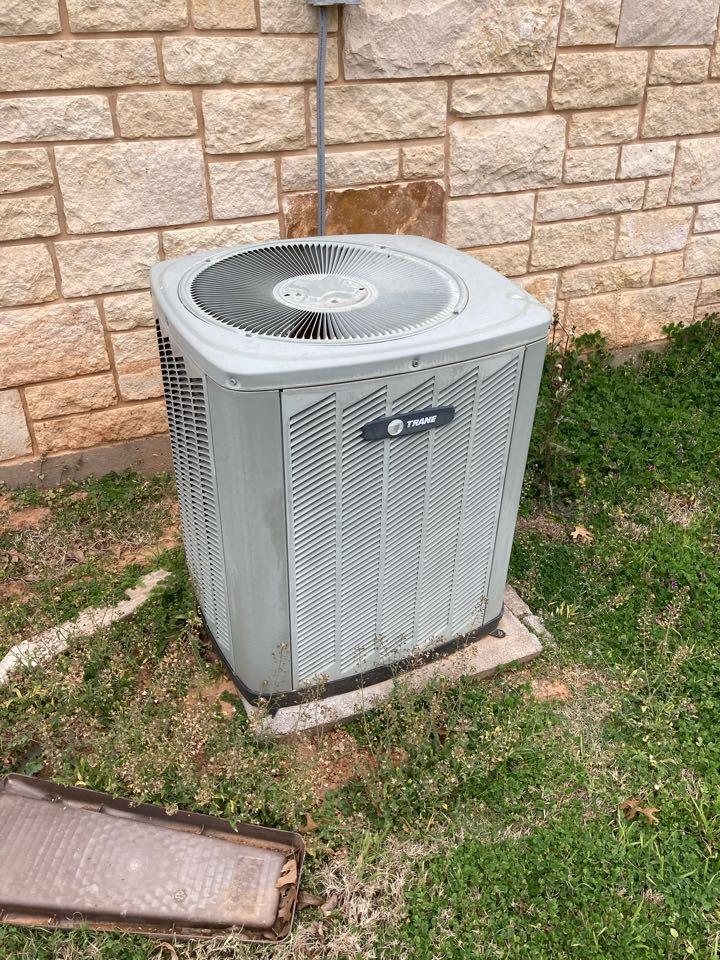 Performed maintenance on three Trane gas furnaces.