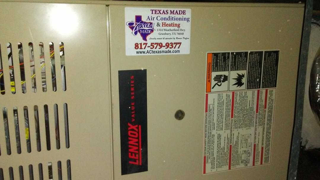5 ton Lennox air handler and condenser fall VIP system check