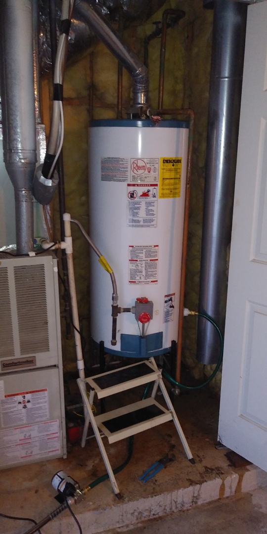 Replacing 50 gal gas heater