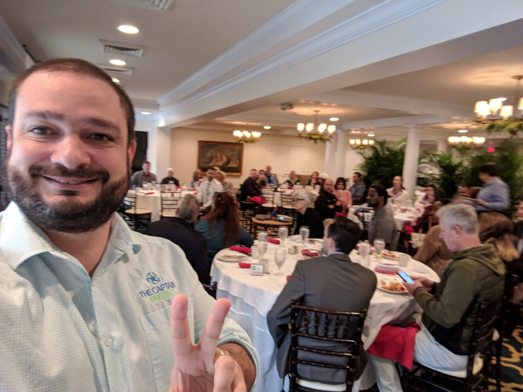 Fort Lauderdale, FL - The Captain Painter is making a presentation  at Rio Vista, Fort Lauderdale (Yatch Club). # Residential and Commercial Painter # Best Painters