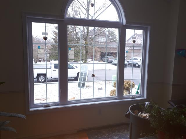 Goulbourn, ON - Impressive set of quality windows installed fit for the Green Ontario Fund rebate.