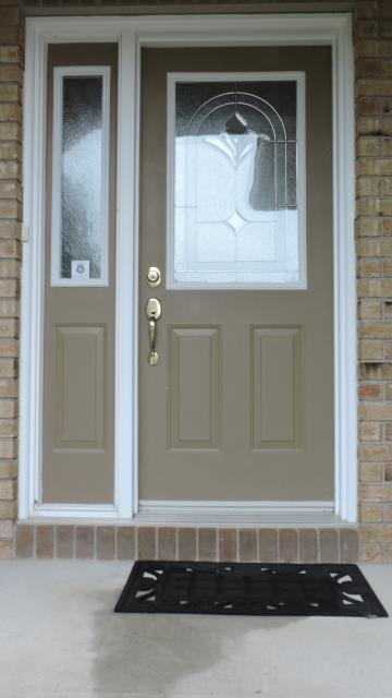 Carleton Place, ON - Carleton Place door replacement before photo......