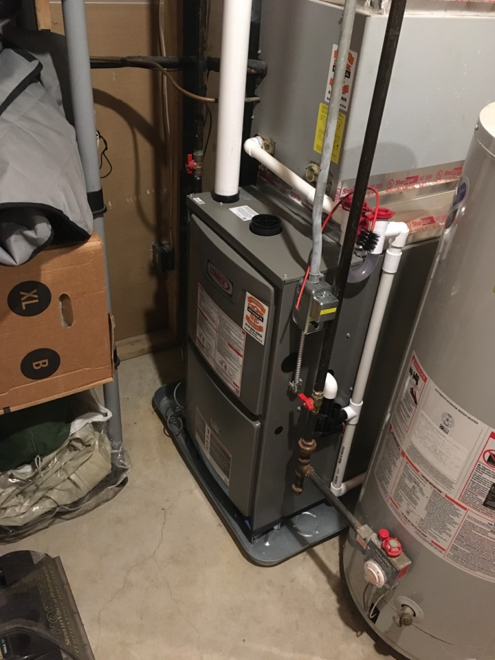 Cedar Springs, MI - Annual furnace maintenance.