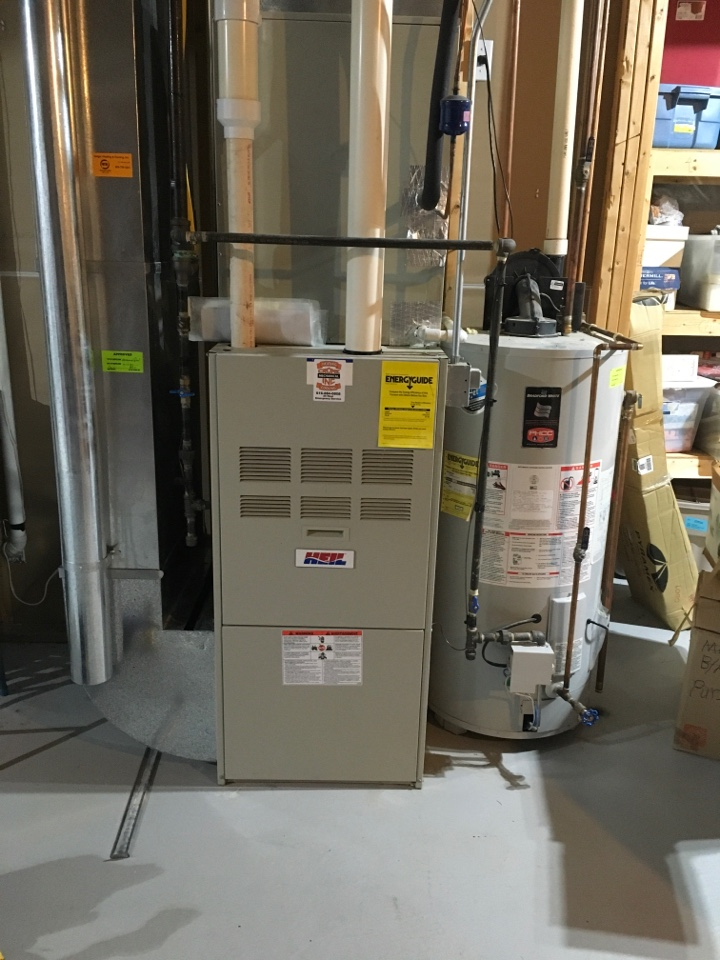 Cedar Springs, MI - Annual furnace inspection.