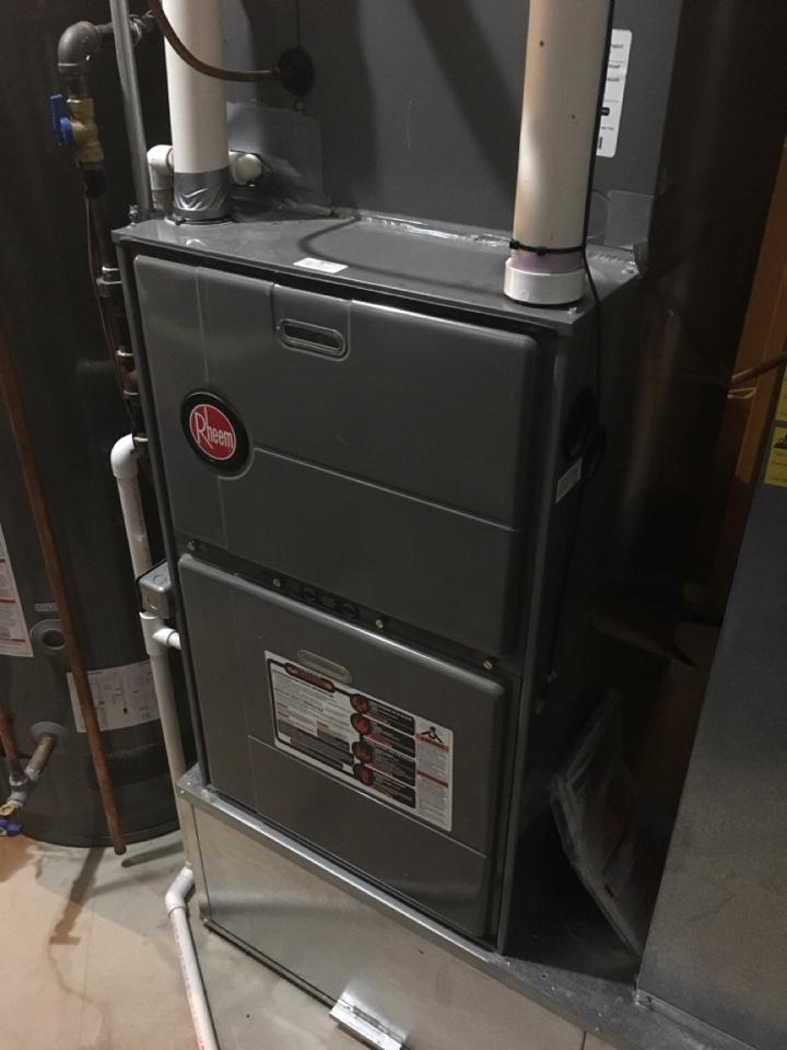 Rockford, MI - Rheem Furnace Repair