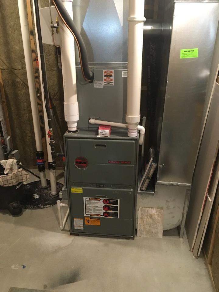 Rockford, MI - Furnace maintenance.