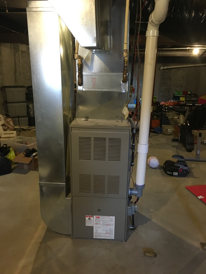 Sand Lake, MI - Furnace not lighting.  Ignitor replaced.
