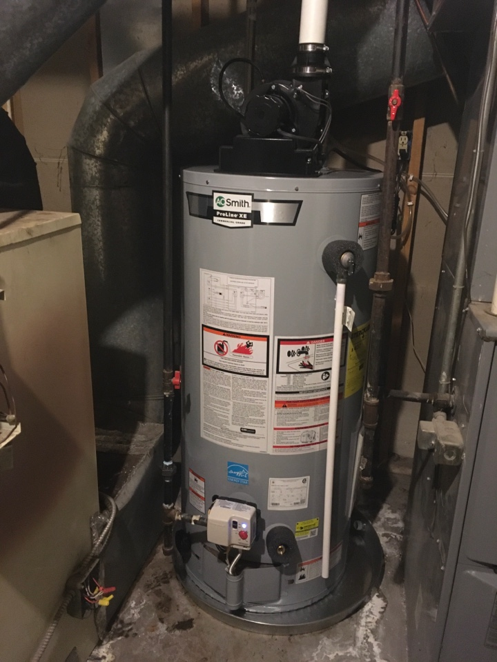 Rockford, MI - A.O. Smith Water Heater Install