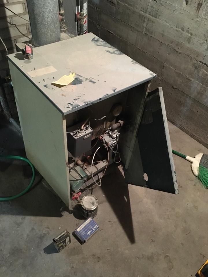 Greenville, MI - Boiler not heating.