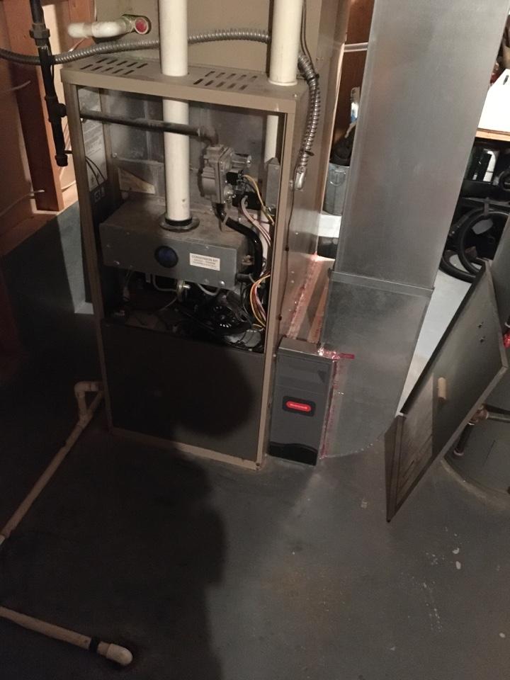 Rockford, MI - Furnace not heating.