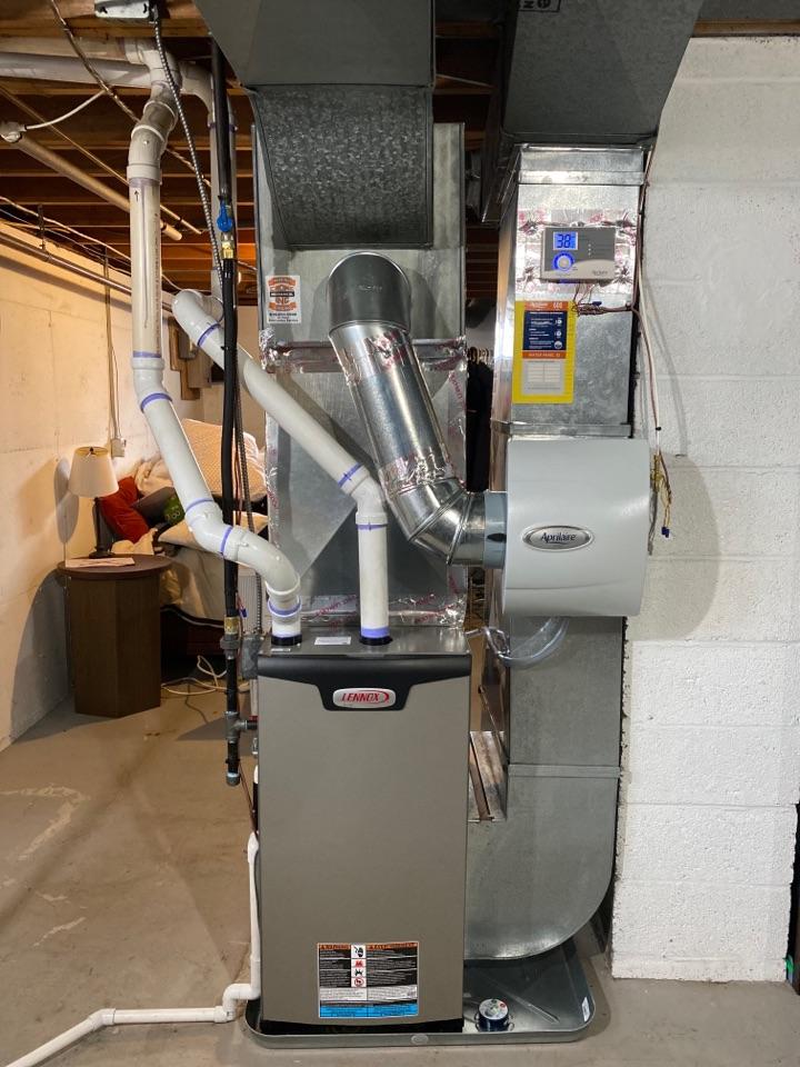 Rockford, MI - Lennox Furnace Installation