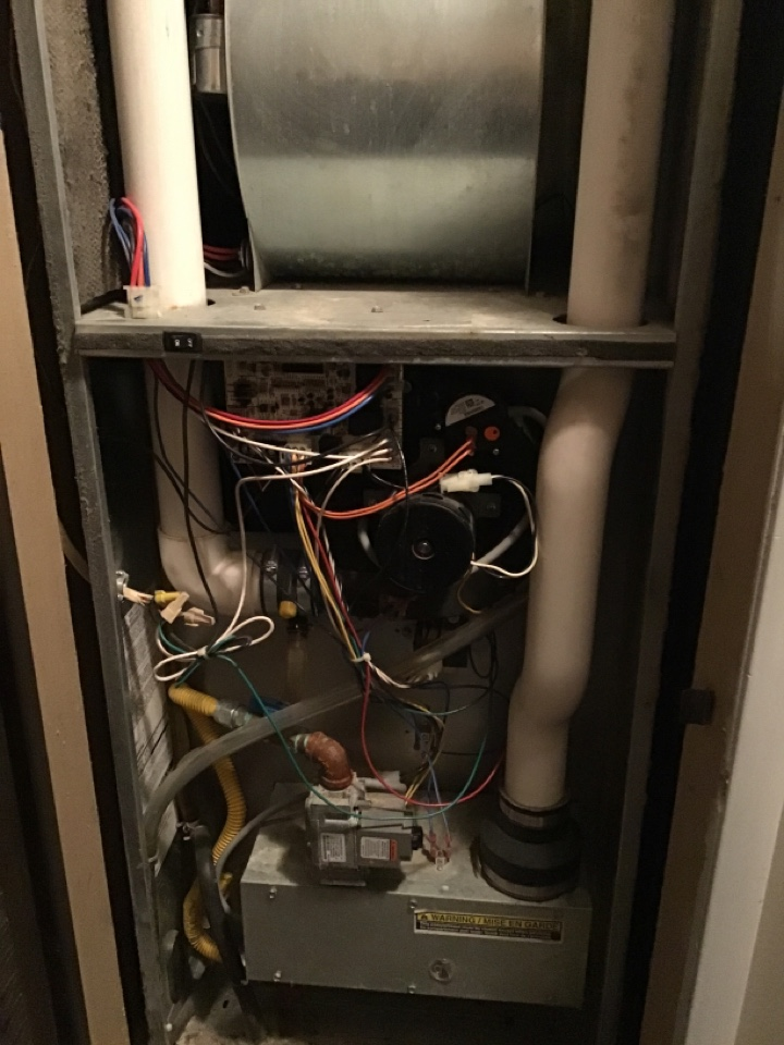 Stanwood, MI - Intertherm, Miller mobile home furnace service. No heat