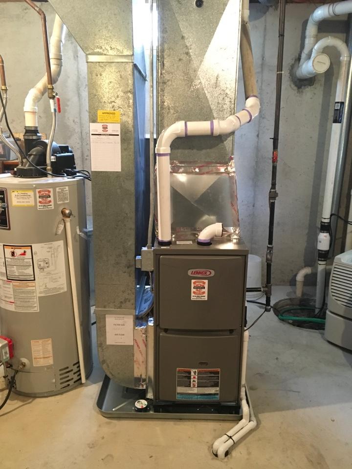 Cedar Springs, MI - Lennox Furnace Installation