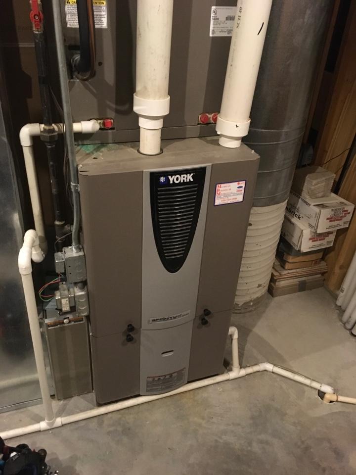 Ada, MI - York furnace not kicking on.