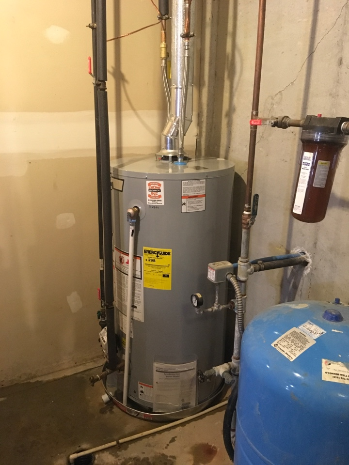 Belding, MI - New water heater installed.