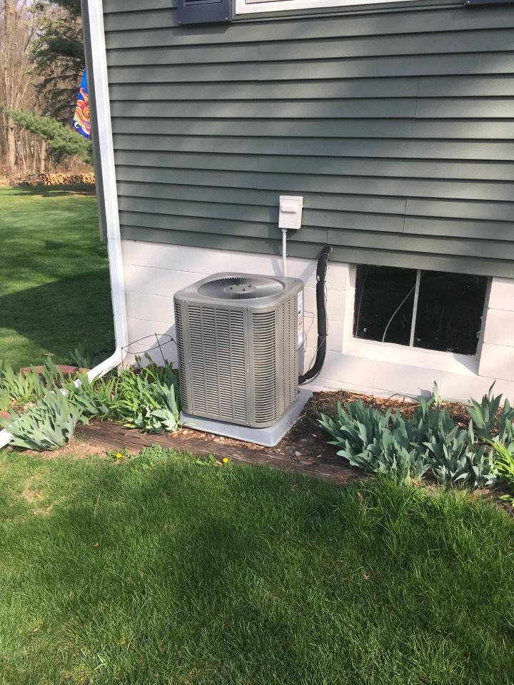 Greenville, MI - Annual air conditioning maintenance.