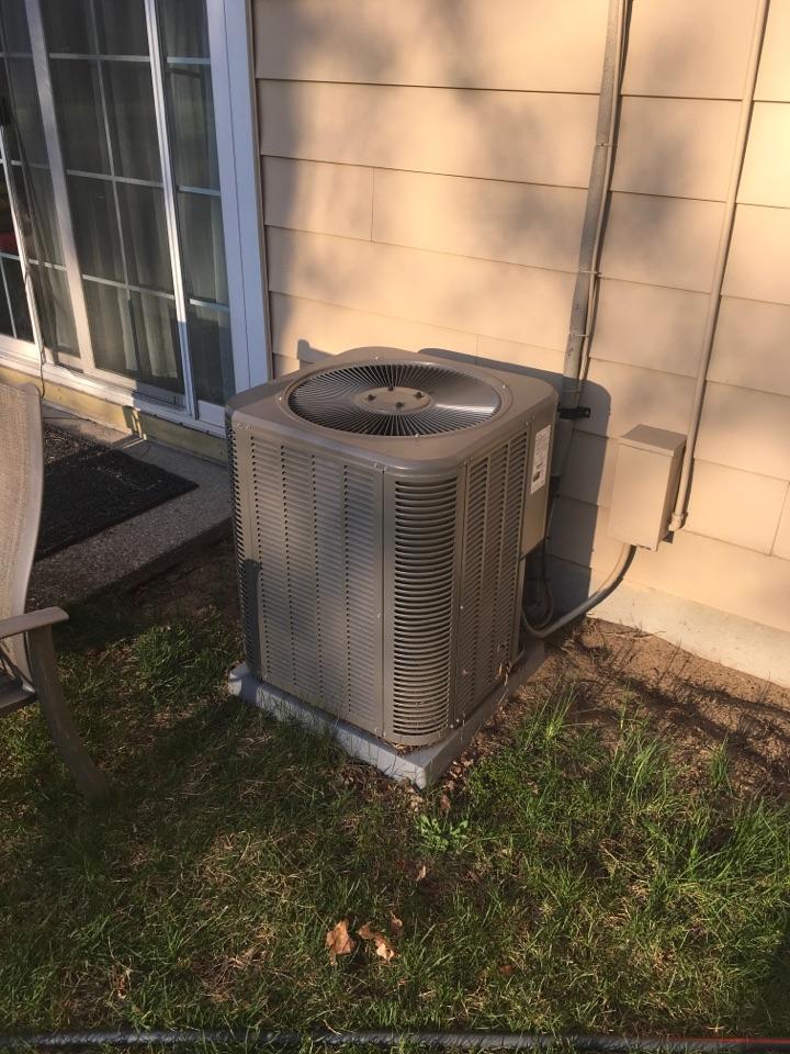 Wyoming, MI - Annual air conditioning maintenance.