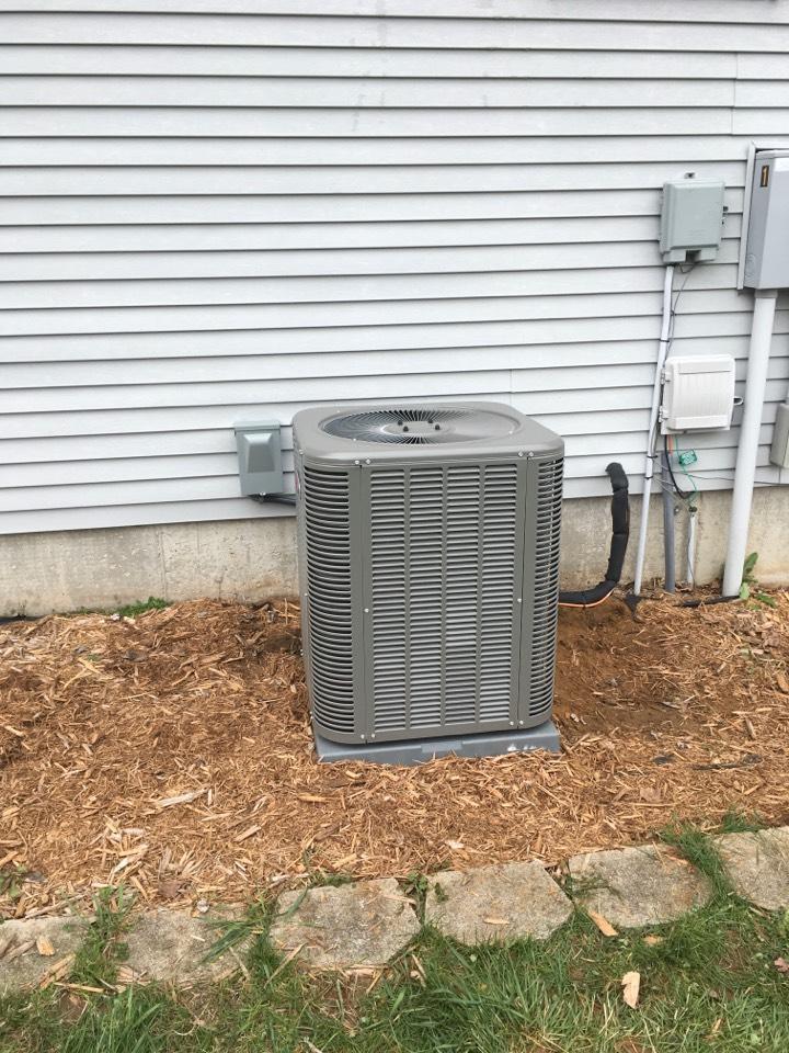 Cedar Springs, MI - Lennox A/C Install