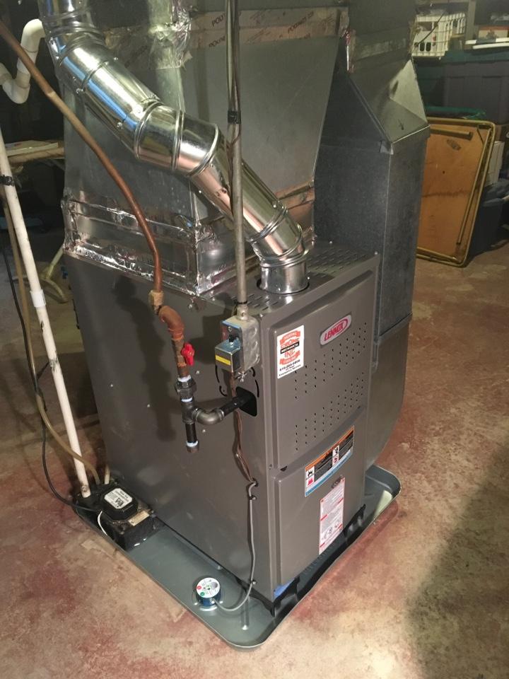 Kent City, MI - Lennox Furnace Install
