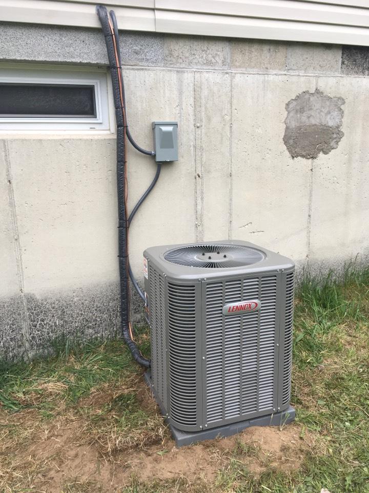 Cedar Springs, MI - Lennox Air Conditioning Install