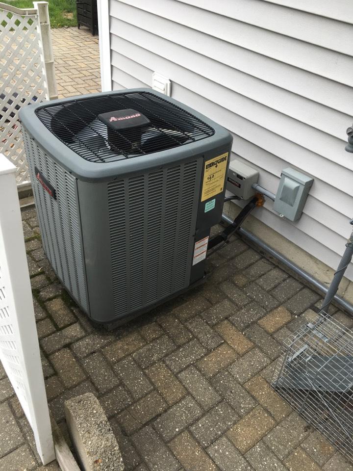 Rockford, MI - Annual air conditioning maintenance.