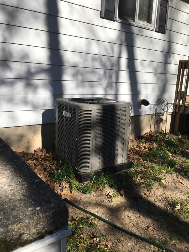 Pierson, MI - Annual air conditioning maintenance.