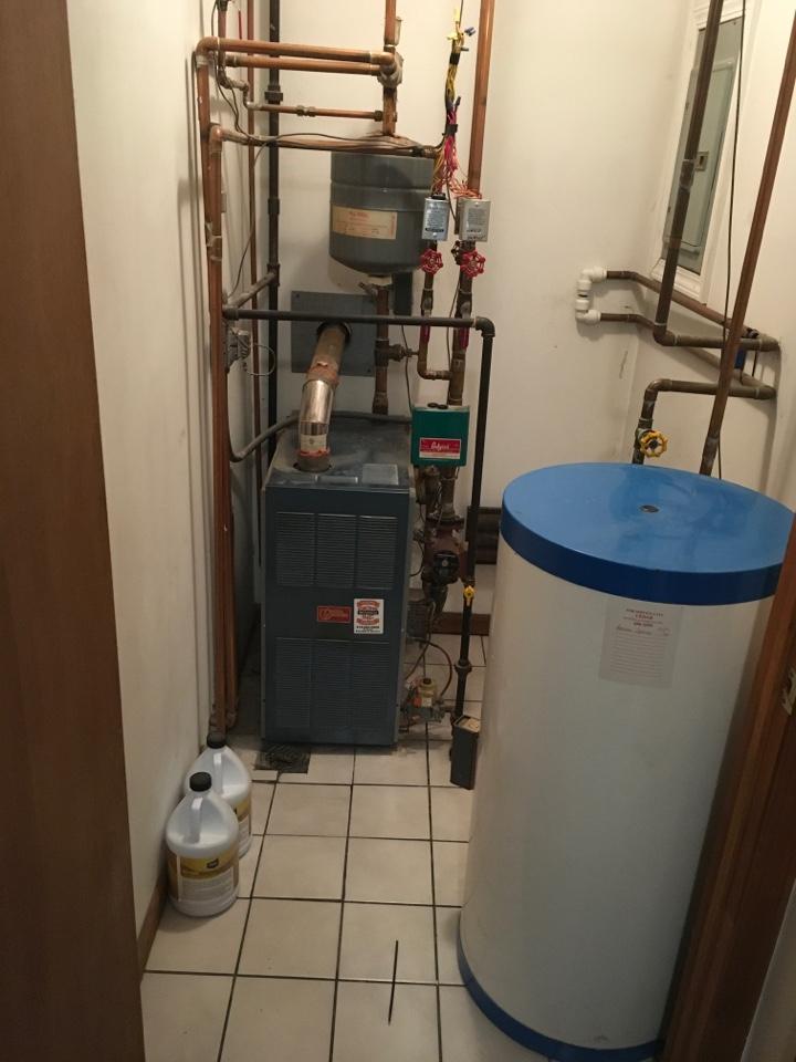 Howard City, MI - No heat or hot water from boiler.