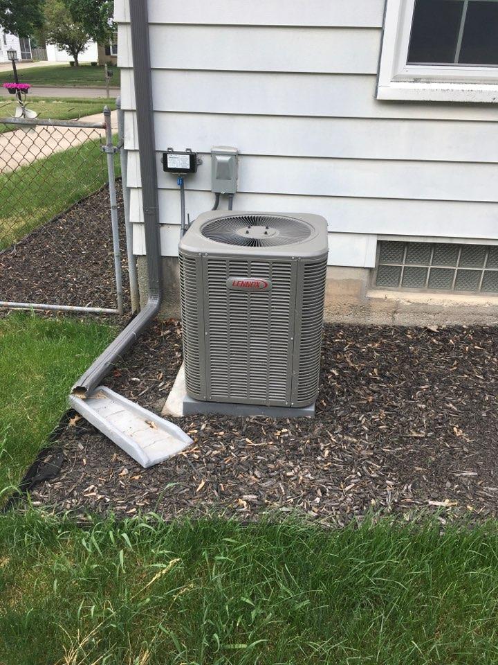 Grand Rapids, MI - Annual air conditioning maintenance.