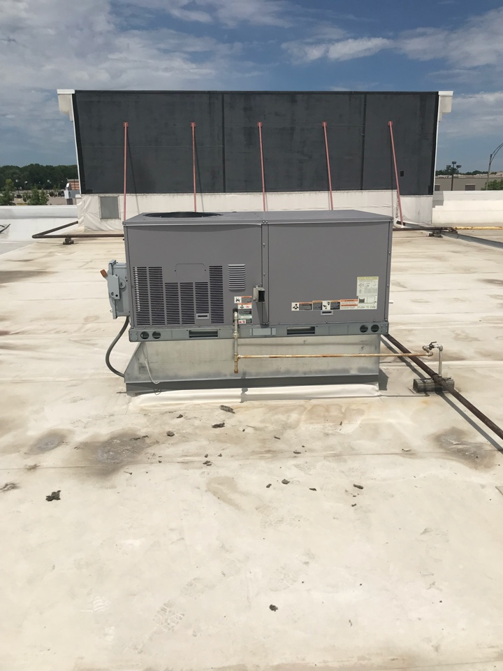 Grand Rapids, MI - Roof top unit making terrible noise.