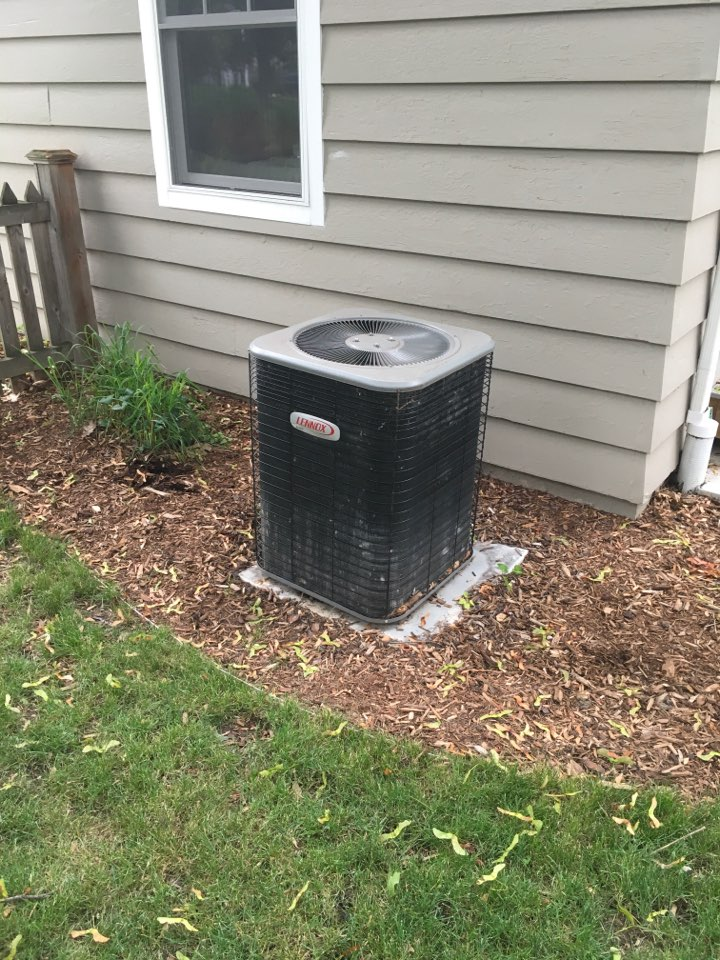 Grand Rapids, MI - Annual maintenance on air conditioning system.