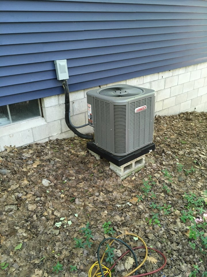 Stanwood, MI - Annual air conditioning maintenance.
