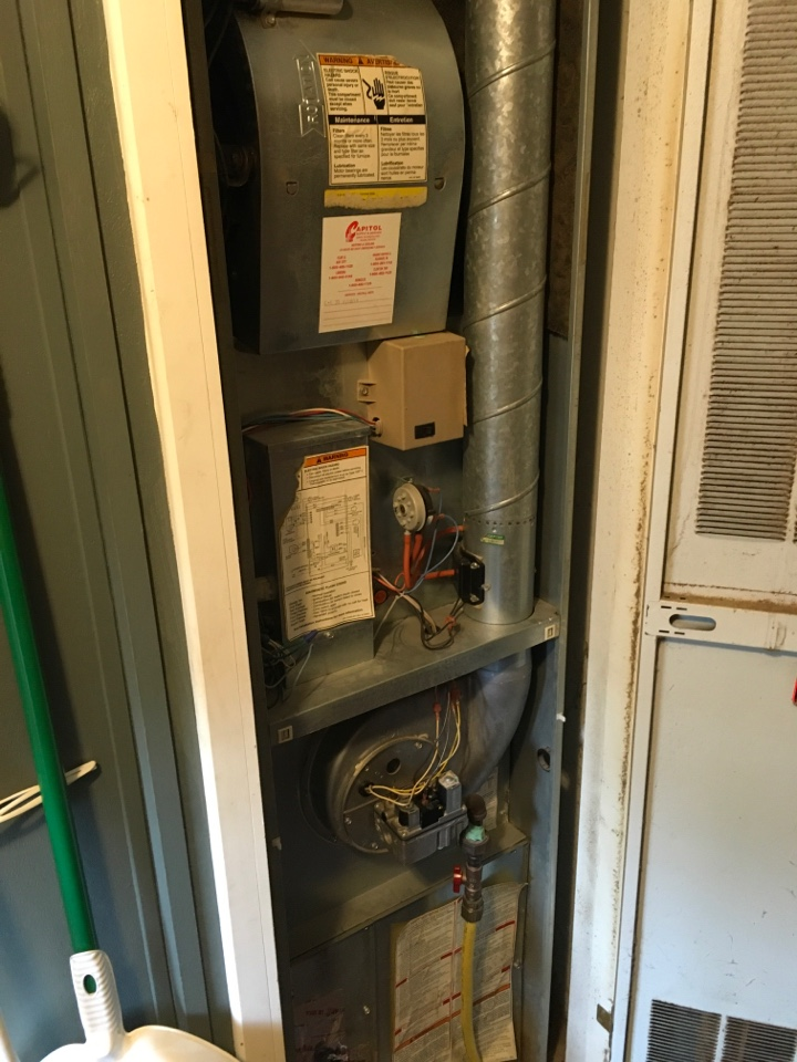 Howard City, MI - Air conditioning not working.
