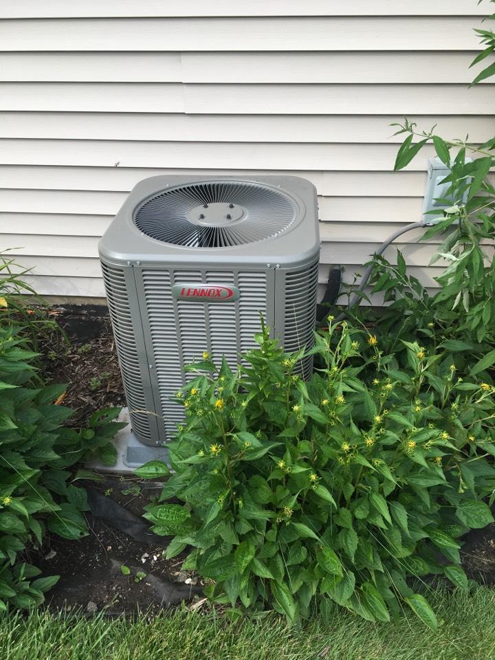 Rockford, MI - Mid summer air conditioning check up.