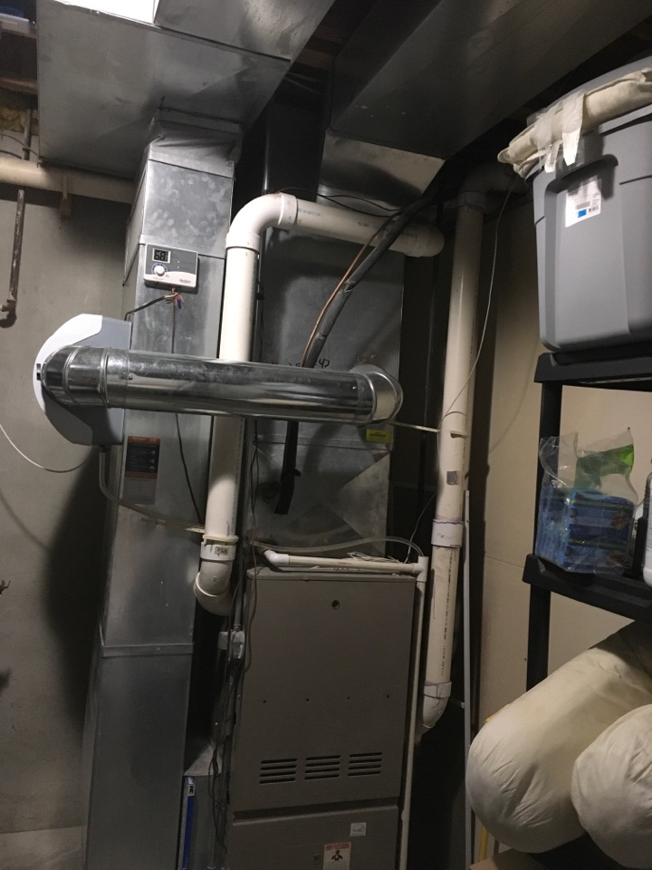 Grand Rapids, MI - Estimate for new furnace air conditioning and water heater installed.