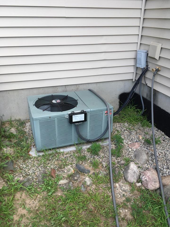 Cedar Springs, MI - Air conditioning not blowing cold air.