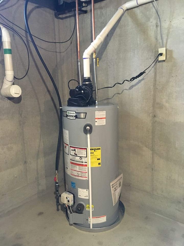 Cedar Springs, MI - New eater heater installed and convert furnace to natural gas.