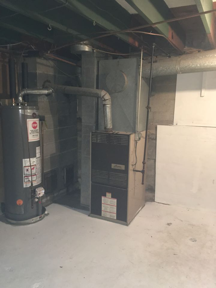 Howard City, MI - Estimate to replace furnace, replace duct work, add air conditioning on propane system.