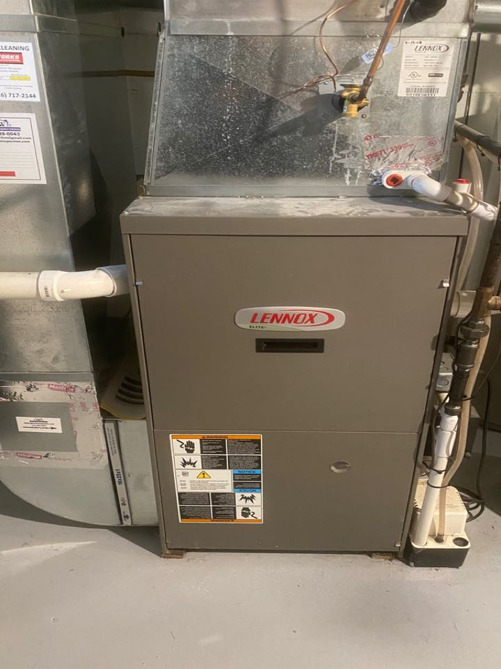 Grand Rapids, MI - Pressure switch replaced on Lennox furnace.