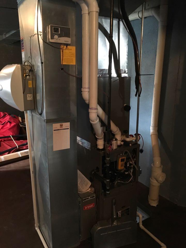 Grand Rapids, MI - Annual furnace and humidifier maintenance.