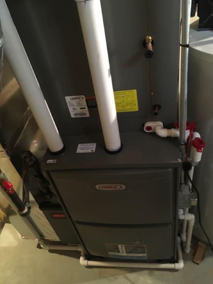 Cedar Springs, MI - Annual furnace maintenance.