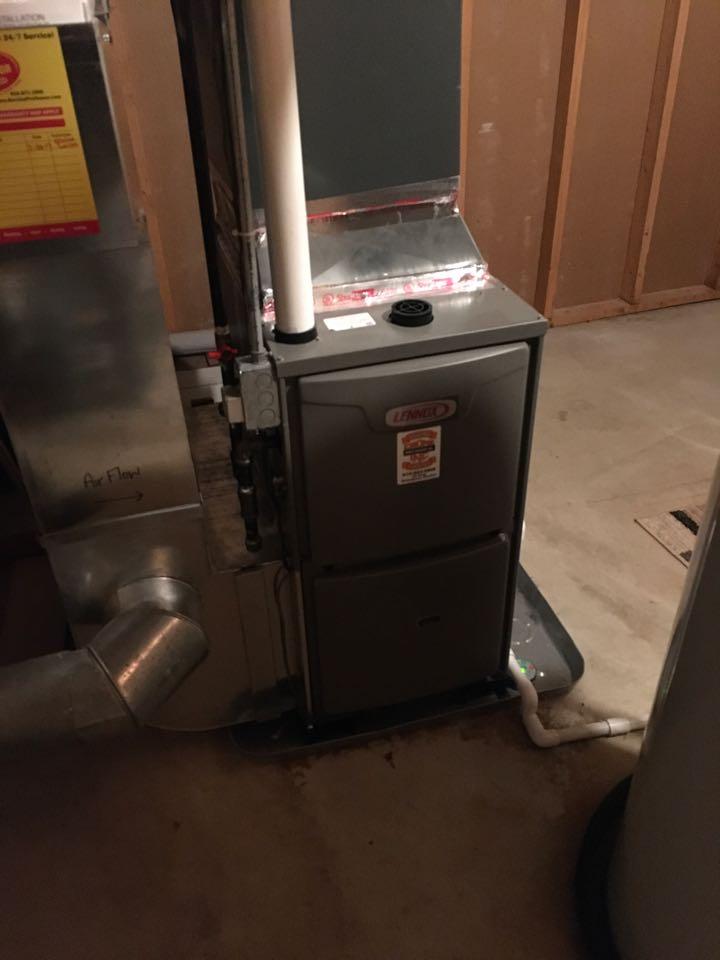 Ada, MI - Annual furnace maintenance.