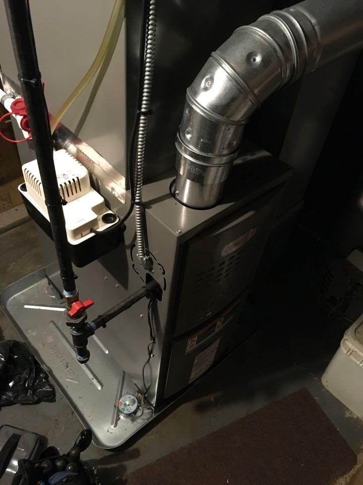 Sparta, MI - Annual furnace maintenance check up.