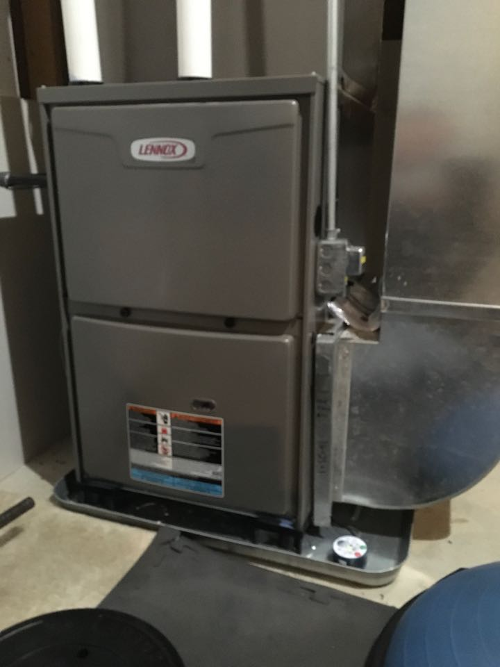 Sparta, MI - Annual furnace and humidifier maintenance check up on Lennox and Aprilaire.