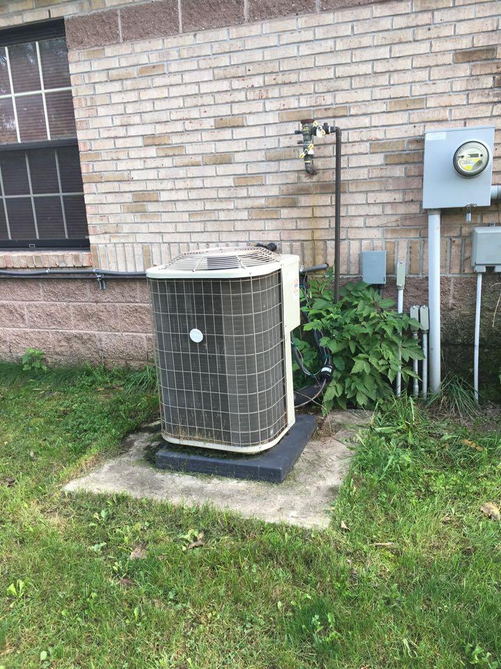 Sparta, MI - Pricing for annual maintenance on HVAC equipment at Rockford ambulance.