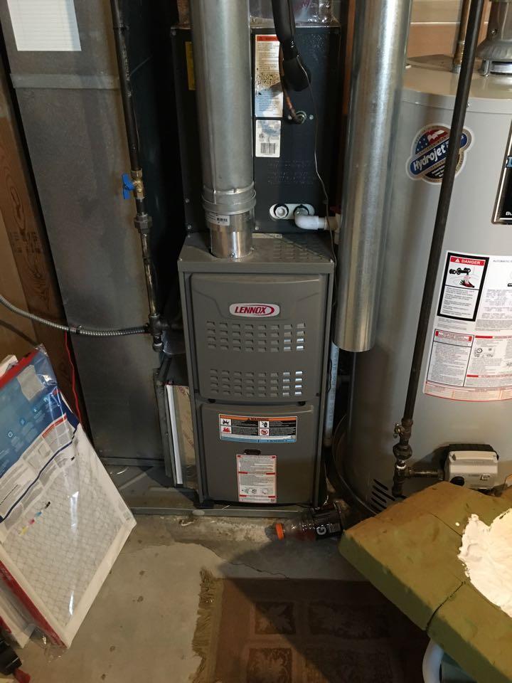 Grand Rapids, MI - Annual furnace maintenance check up Lennox.