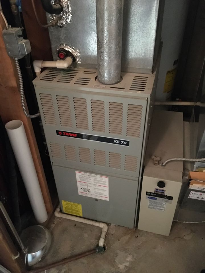 Rockford, MI - Fall furnace check up.  Due to age and condition new Lennox equipment scheduled for installation.