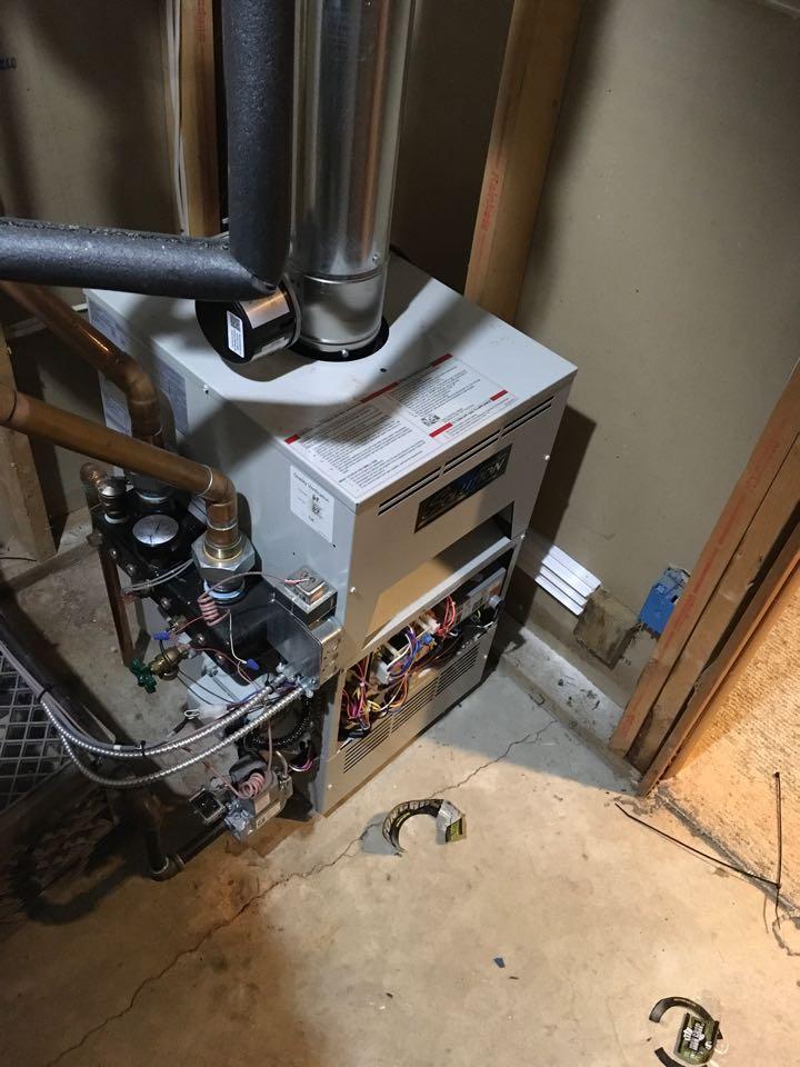 Big Rapids, MI - Lochinvar boiler not coming on.